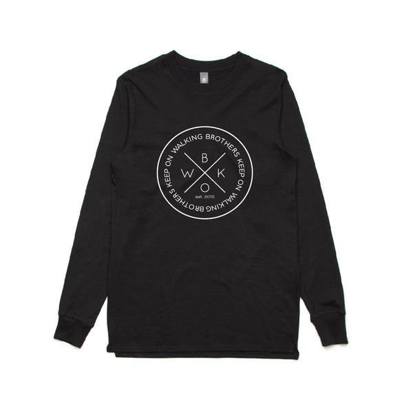 BASE LONG SLEEVE - BKOW SUPERSIZED CIRCLE