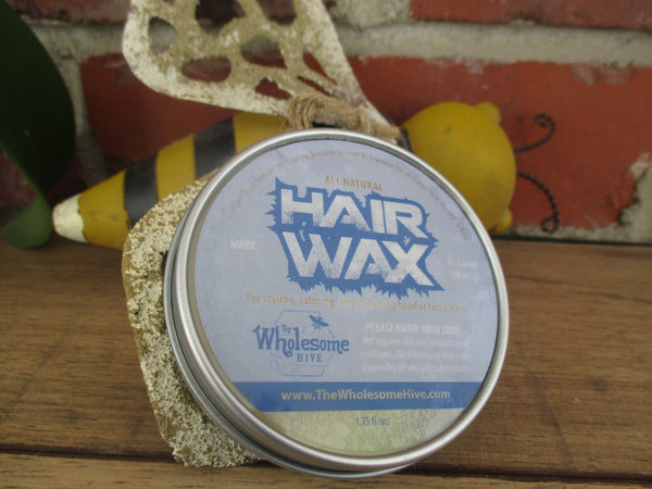 All Natural Hair Wax