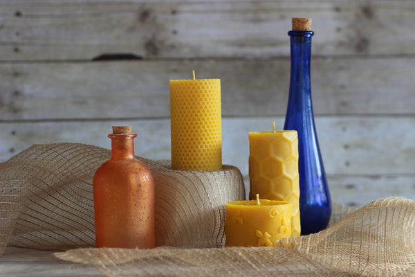 Beeswax Candles (Poured)