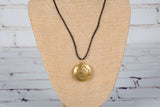 Personal Diffuser Necklace - Gold Flower