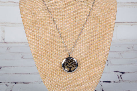 Personal Diffuser Tree of Life Necklace - Hypoallergic Stainless Steel
