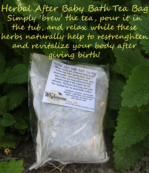 Herbal After Baby Bath Tea Bag