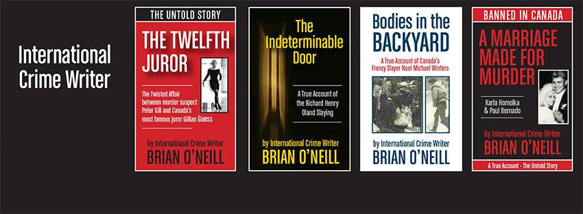 Brian O'Neill - True Crime Novels