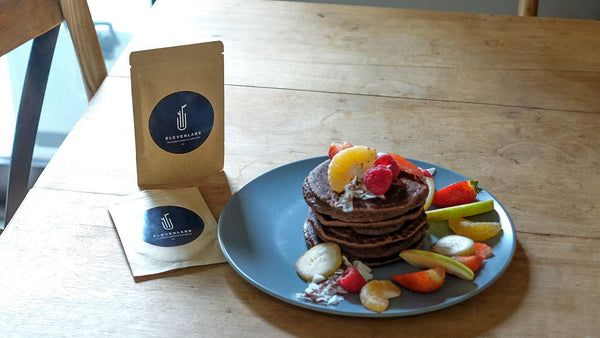 Superfood Cacao Protein Pancakes