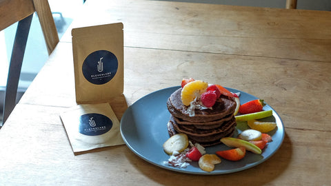elevenlabs superfood cacao protein pancakes