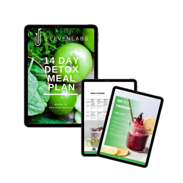 ElevenLabs 14 Day Detox Bundle with FREE Detox Meal Plan Recipe eBook