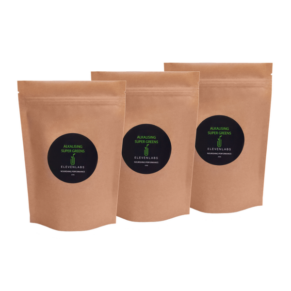 ElevenLabs Trio Bundle - Alkalising Super Greens 3 x 250g - SAVE over $20