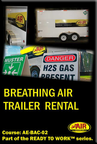 Breathing Air Trailer Rental