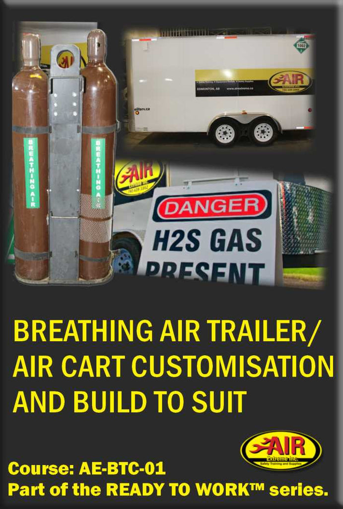Breathing Air Trailer / Air Cart Customization and Build To Suit
