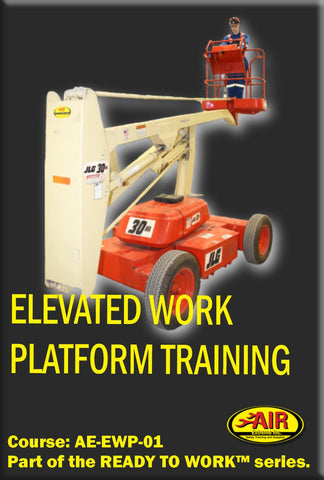 Elevated Work Platform ( OSSA Touch Back Safety)