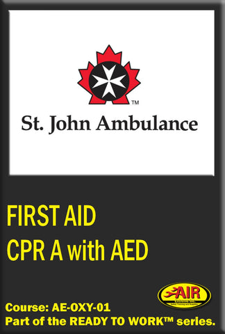 CPR A with AED Training Course (St.John Ambulance)