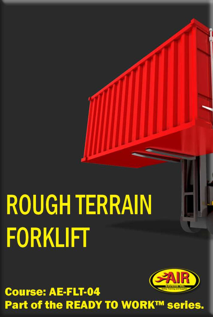 Rough Terrain Fork Lift Training Course