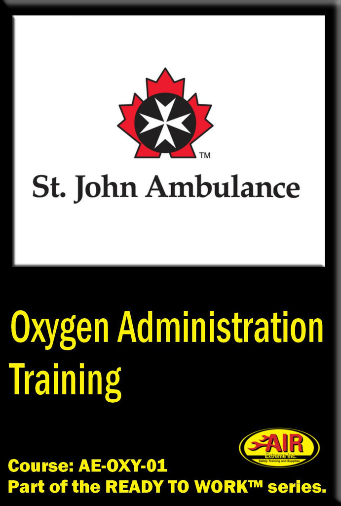 Oxygen Administration Training Course (St. John Ambulance)