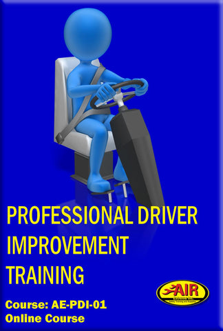 Professional Driver Improvement Training Course