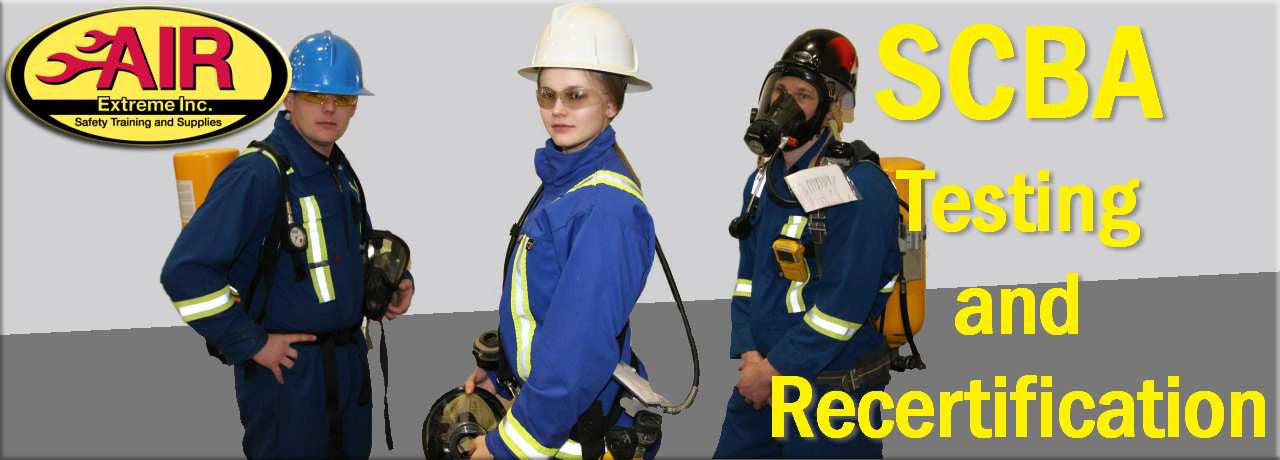 SCBA Training and Certification