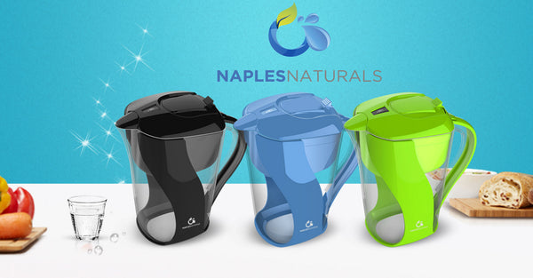 Naples Naturals Alkaline Water Pitcher