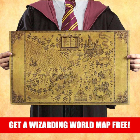 Map of the Wizarding World