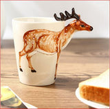 Ceramic Coffee Milk Tea 3D Mug