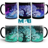 6pieces Bundle  (3purple / 3Green) Set  NEW Magical Morphing Mugs-FREE SHIPPING!