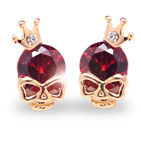 FREE Crowned Skull Earrings- Just Pay Shipping!