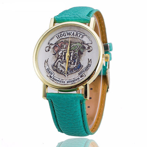 Hogwart Learther Watch-FREE Just Pay Shipping