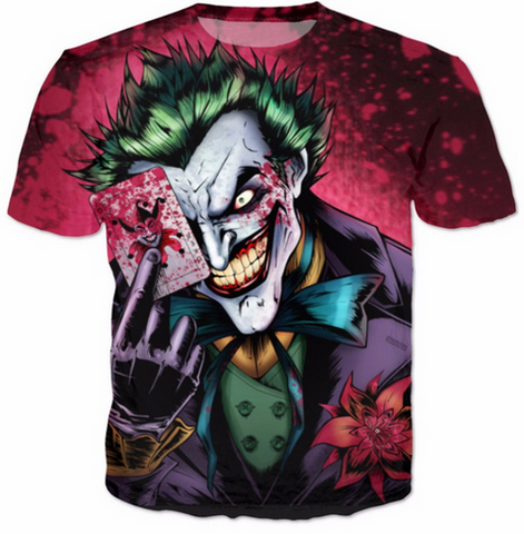 Joker 3D T Shirt FREE SHIPPING!