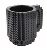 DIY Build-on brick mug Lego Style puzzle cup