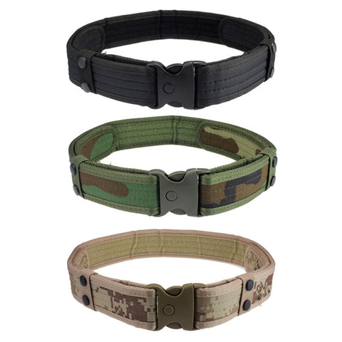 New Woodland Camo Waistband belt Tactical Hunting Outdoor Sports Field Military belt sale