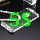 Luxury Mirror Diamond Phone Case For iPhone 5 5S/6 6S/6 6S Plus Women Fashion