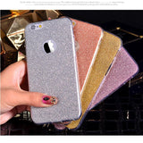 Ultra Thin Glitter  Cover For iPhone 6 Case Crystal Soft Gel  For iPhone6 6S 6 Plus 6S Plus Case