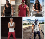 Men Cotton Hoodie Sweatshirts fitness clothes Gym