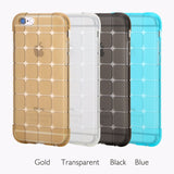 ROCK Crystal Clear Transparent Soft Silicon 0.3mm TPU Case for iPhone 6 6 plus