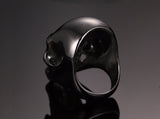 Gothic  Black Skull Cool Rings