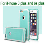 MB Apple iPhone Case Rubber TPU Silicone Shockproof Back Cover Case For iPhone 6  6S / Plus / SE and 5 5s Anti-knock Phone Case