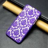 MB Rubberized Damask Vintage Multicolor  Pattern Hard Case For Samsung Galaxy S4 mini /S3mini