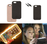 Light up Lum LED Selfie Light Case for iPhone & Samsung Galaxy