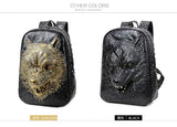 Platinum Collection Wolf Head Backpack
