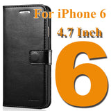 MB Wallet Leather Case For iPhone 6 6S / 6 6S Plus