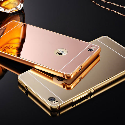 MB Luxury Mirror Case For Huawei P8 5.2inch / P8 Lite 5.0""
