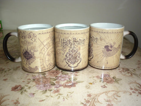 Marauders Map Magical Transforming Mug