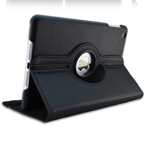 360 Rotation PU Leather case for Apple iPad Mini 1 2 Retina
