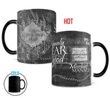 MM Hogwarts Magical Marauder's Map Heat Reactive Mug