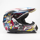 New Adult MTB DH racing helmet cross Helmet  with free google, gloves and face mask
