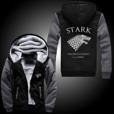 Exclusive Limited Edition Premium G.O.T Winter Is Coming Jacket