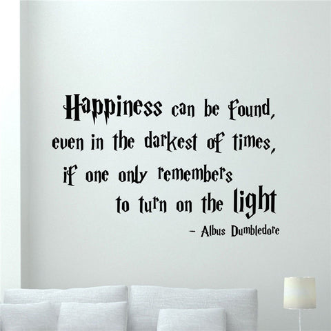 Happiness Can Be Found Vinyl Sticker Wall Decal