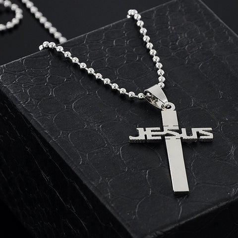 JESUS Cross Pendant-FREE Just Pay Shipping