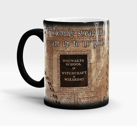 Hogwarts School marauders map coffee Mug