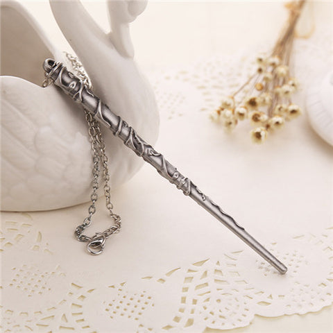 Magic Wand Necklace & Keychain FREE-Just Pay Shipping