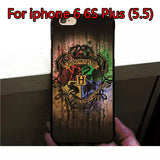 Marauder's Map Protective Phone Case For iPhone 5 5S 6 6s 6 Plus