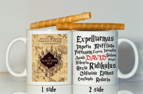 Custom Name Marauders Map Mug